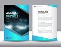 Blue Annual Report Template Ve...