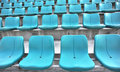 Blue auditorium Royalty Free Stock Photo