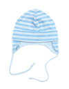 Blue baby hat boy isolated on white background Stock Photography