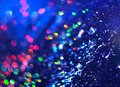 Blue background of abstract brilliance Royalty Free Stock Photo