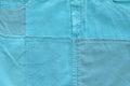 Blue background for baby boy. Horizontal image Royalty Free Stock Photo