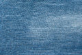 Blue background of old faded denim Royalty Free Stock Photo