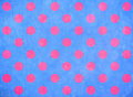 Blue background with pink spots Stock Photography