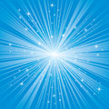 Blue background with stars Royalty Free Stock Photo