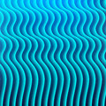 Blue background with wavy lines vector illustration Royalty Free Stock Photo