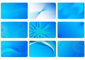 Blue backgrounds Stock Image