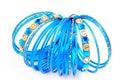 Blue bangles Royalty Free Stock Photo