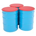 Blue barrel Royalty Free Stock Photo