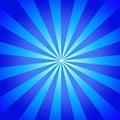 Blue beams
