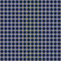 Blue and Biege Circle Pattern Stock Photography