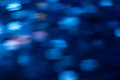 Blue blurred creative abstract background Royalty Free Stock Photo