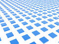 Blue Box Grid Royalty Free Stock Photo