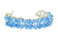 Blue bracelet Royalty Free Stock Photo