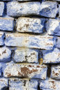 Blue brick wall background Royalty Free Stock Photo