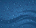Blue bubbles background Royalty Free Stock Image