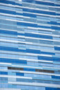 Blue building background Royalty Free Stock Photos