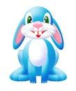 Blue bunny 2