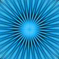 Blue Burst Royalty Free Stock Photo