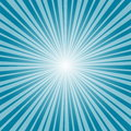 Blue burst background. Vector/illustration. Royalty Free Stock Photo