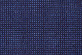 Blue canvas carpet background or texture Royalty Free Stock Photo