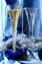 Blue celebration Royalty Free Stock Photography