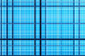 Blue cells background geometric weave Royalty Free Stock Photo