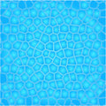 Blue cells water background Royalty Free Stock Photo