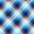 Blue checkered diagonal seamless background pattern Stock Image