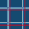 Blue checkered seamless pattern repeat design Royalty Free Stock Photos