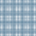 Blue checkered seamless pattern repeat design Stock Image