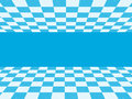 Blue checkered texture and white Royalty Free Stock Photography