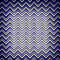 Blue chevron design Stock Photos