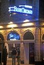 Blue Chicago Music Bar, Chicago, Illinois Royalty Free Stock Photo