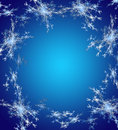Blue christmas background in elegant style computer generated graphics Royalty Free Stock Images