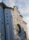 Blue Church in Bratislava in Slovakia Europe