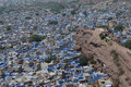 The blue city - Jodhpur Stock Photos