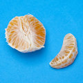 Blue Clementine Royalty Free Stock Photography