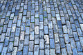 Blue cobblestone Royalty Free Stock Photography