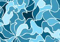 Blue collage pattern for backgrounds Royalty Free Stock Photo