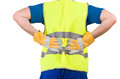 Blue collar worker image of a Royalty Free Stock Image