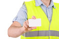 Blue collar worker image of a Stock Photography