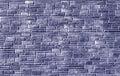 blue color brick stylized wall pattern.