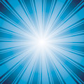 Blue color burst background vector illustration Royalty Free Stock Images