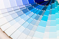 Blue color range the scheme of the background Royalty Free Stock Photo