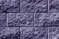 Blue color stylized wall pattern.