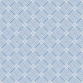 Blue Colors Square grid Pattern design. Korean traditional Patte Royalty Free Stock Photo