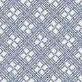 Blue colors square grid pattern korean traditional design series Royalty Free Stock Images