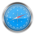 Blue Compass Stock Photography