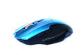 blue computer mouse Royalty Free Stock Photo