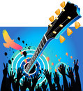 Blue Concert Music Background Royalty Free Stock Photo